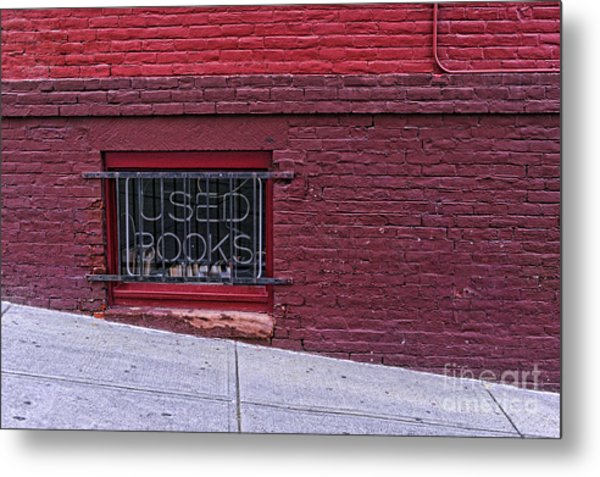Used Books Metal Print