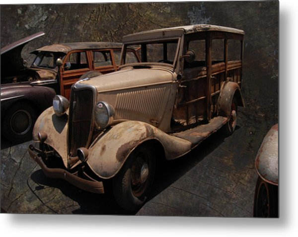 Used Car Lot Metal Print