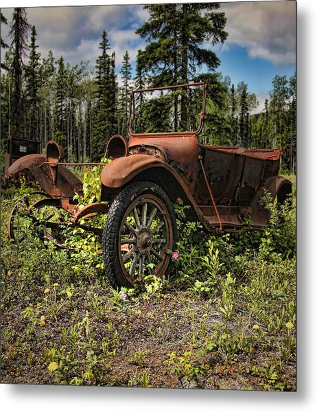 Valdez To Fairbanks Taxi Metal Print