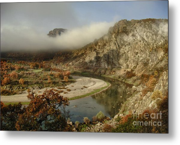Valley Of The Vultures Metal Print