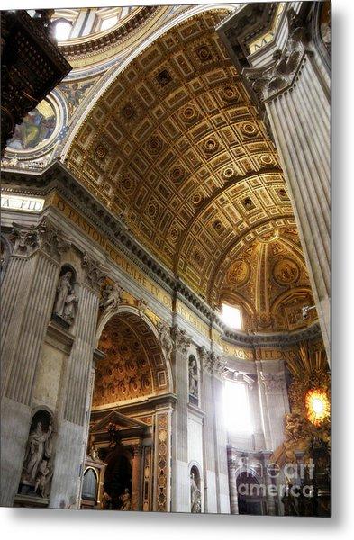Vatican Light Metal Print