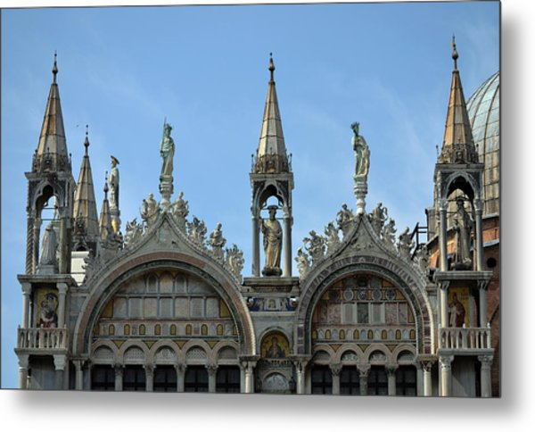 Venetian Architecture. Metal Print by Terence Davis