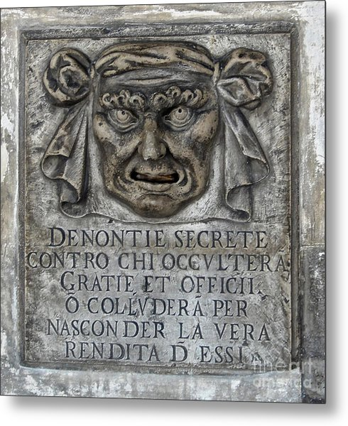 Venice Italy - Lions Mouth Metal Print