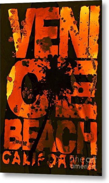 Venice Rocks Metal Print