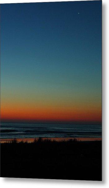 Venus And Atlantic Before Sunrise Metal Print