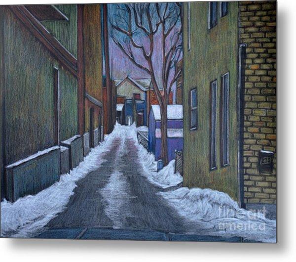 Verdun Alley In Early Spring Metal Print