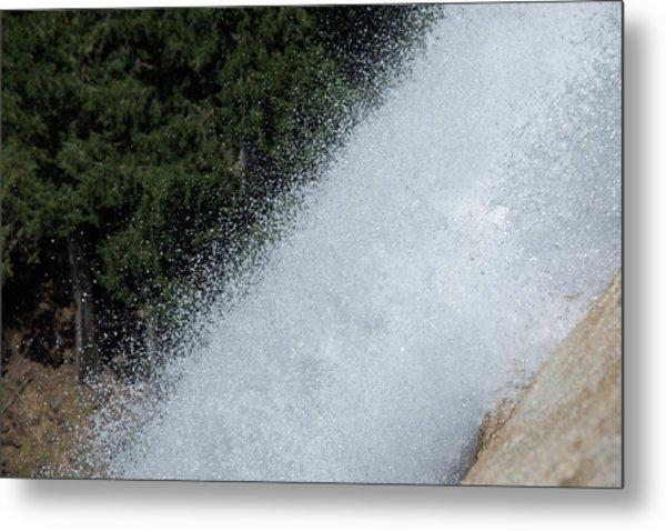 Vernal Falls On The Mist Trail At Yosemite Np Metal Print
