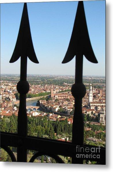 Verona- View Metal Print