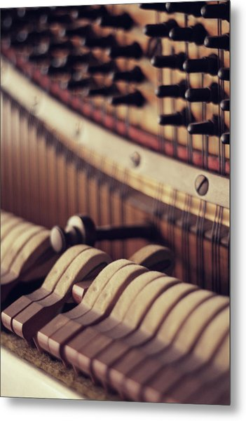 Vertical Piano Metal Print by Isabelle Lafrance Photography