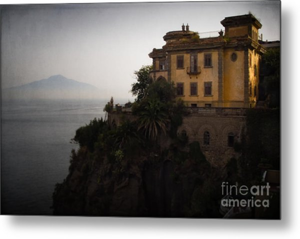 Vesuvius From Sorrento Metal Print