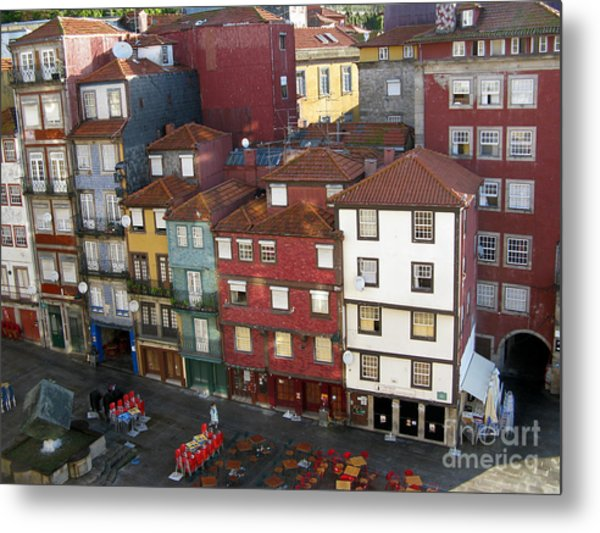 Vibrant Porto Metal Print