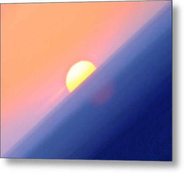 Vibrant Sun Metal Print
