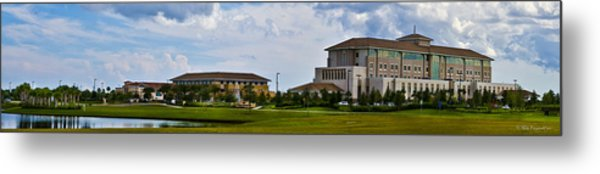 Viera Hospital Metal Print by Mike Fitzgerald