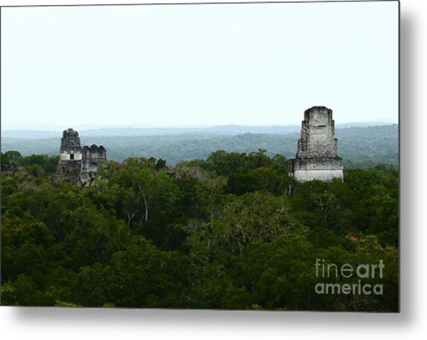 View From The Top Of The World Metal Print
