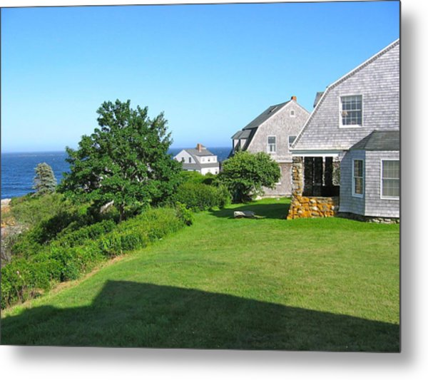 View From The Veranda Metal Print