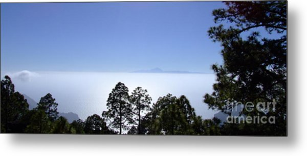 View Of Tenerife Metal Print
