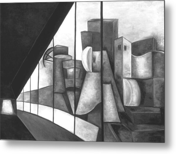 View Of The Weisman Ix Metal Print