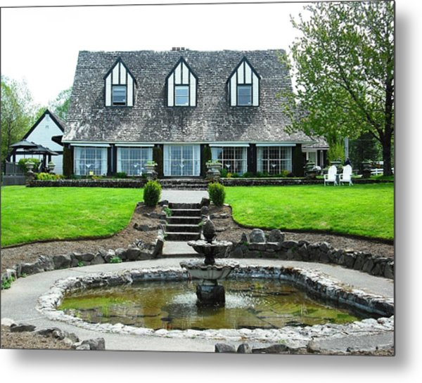 View Point Inn Corbett Metal Print