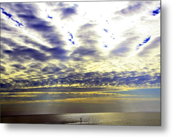 View-west End Dr. Metal Print