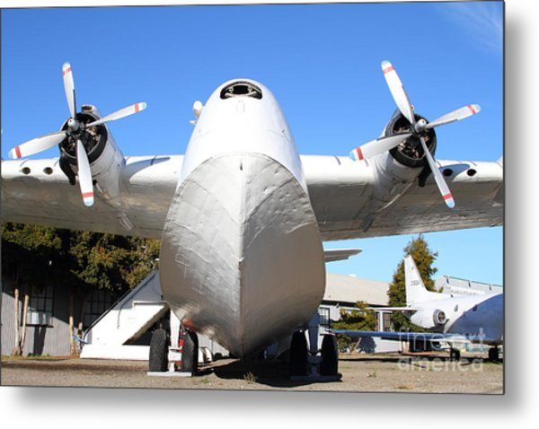 Vintage Boac British Overseas Airways Corporation Speedbird Flying Boat . 7d11278 Metal Print by Wingsdomain Art and Photography