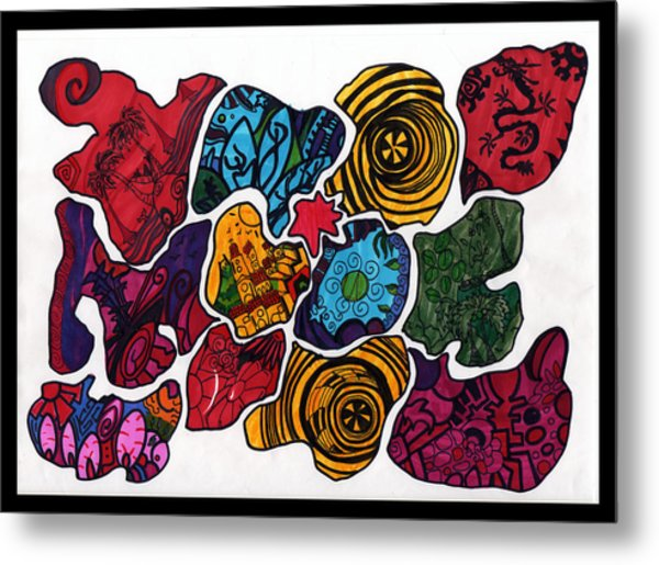 Voltiao Metal Print by MikAn 'sArt