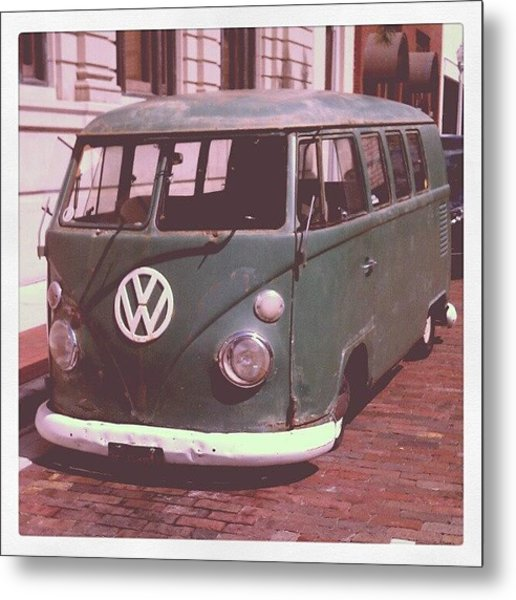 Vw In Downtown Fort Myers. #vw Metal Print