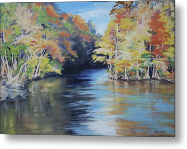Waccamaw Autumn Metal Print