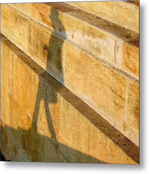 Walking On Sunshine #italy #genoa Metal Print