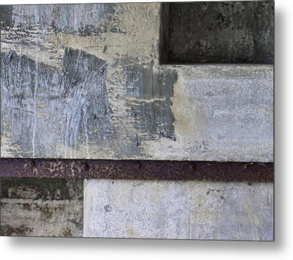 Wall Texture Number 12 Metal Print