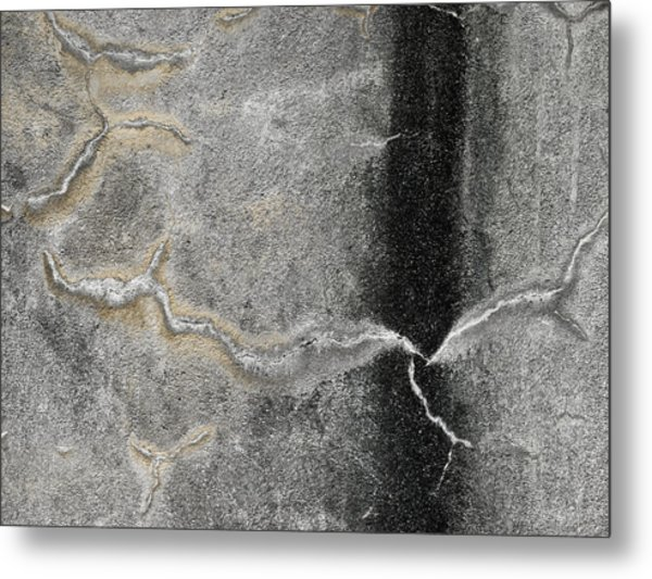 Wall Texture Number 4 Metal Print