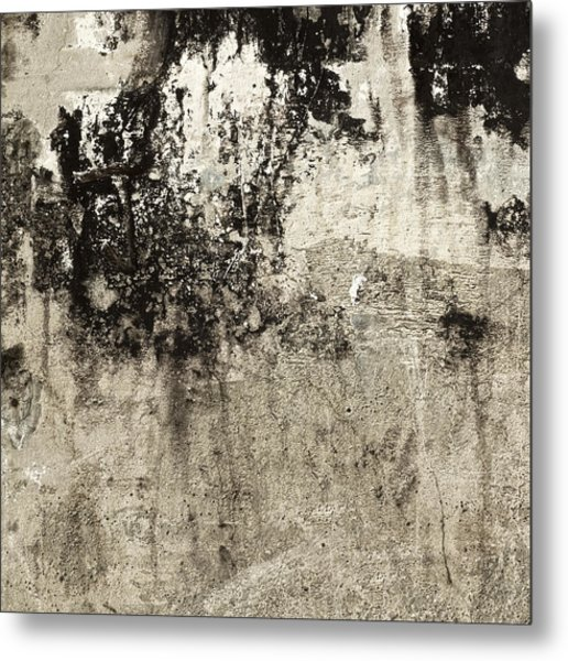 Wall Texture Number 9 Metal Print