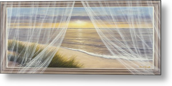 Warm Breeze Panoramic View Metal Print