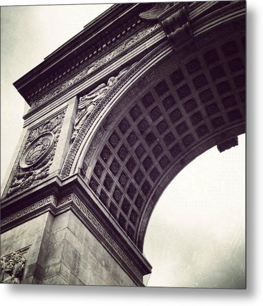 Washington Square Park Metal Print