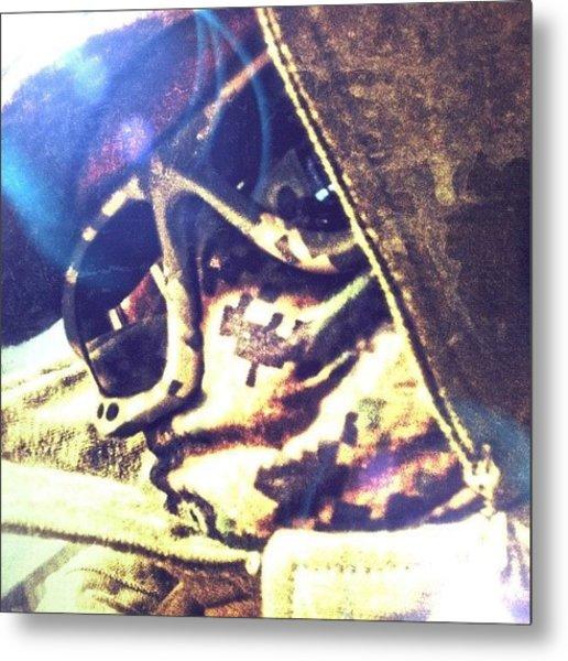 Wasteland Glare ~ Corron Xtrillion Metal Print