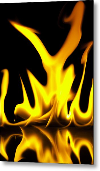 Waster And Fire Metal Print