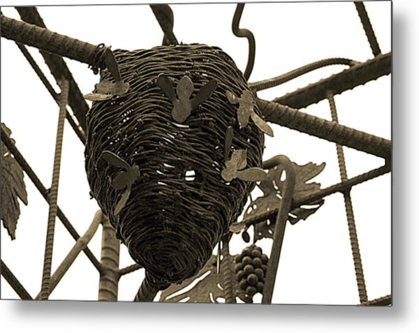 Watch Out For The Bees Metal Print by Terrie Taylor