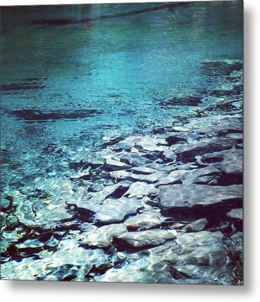 Water Is The Only Drink For A Wise Man Metal Print