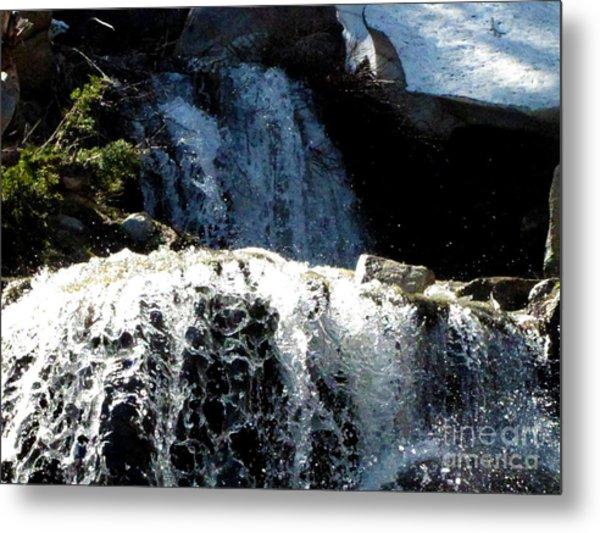 Waterfall 4 Metal Print