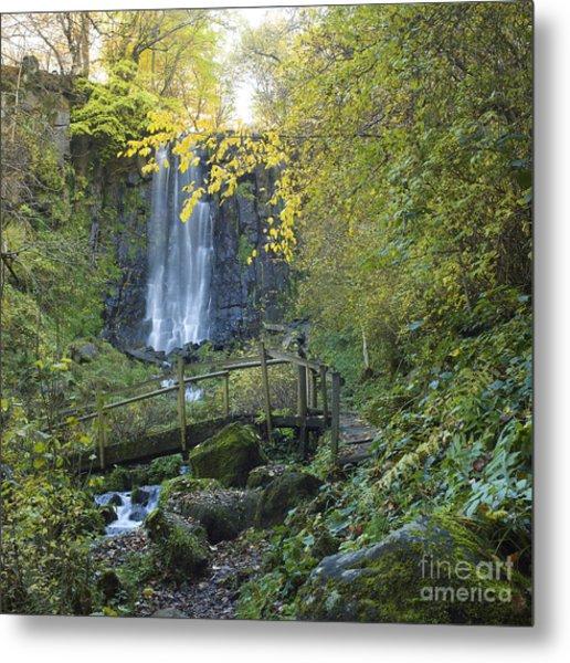 Waterfall Of Vaucoux. Puy De Dome. Auvergne. France Metal Print