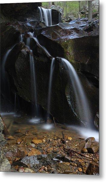 Waterfall On Emory Gap Branch Metal Print