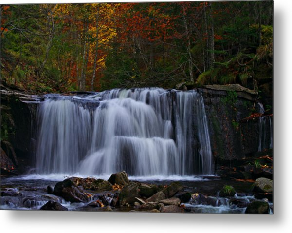 Waterfall Svitan Metal Print