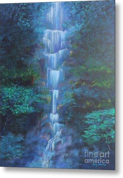 Waterfall Symphony Metal Print
