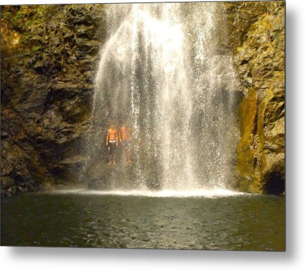 Waterfalls Montezuma Costa Rica Metal Print