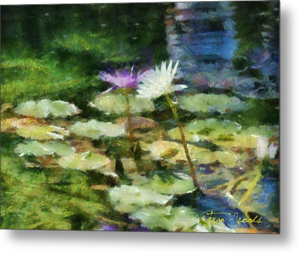 Waterlilies 2 Metal Print