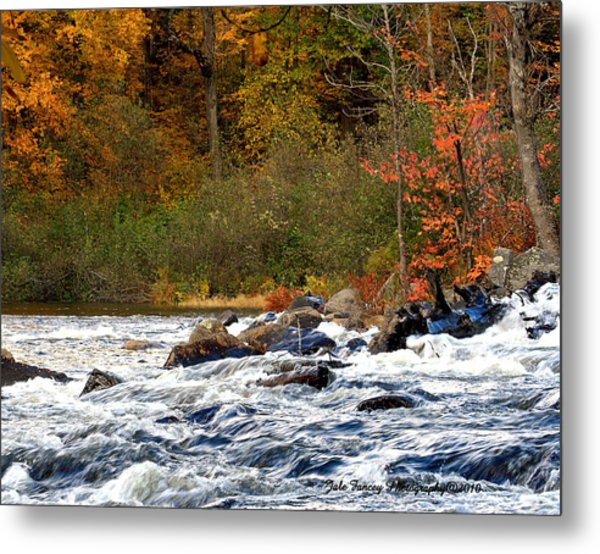 Waters Of Algonquin Metal Print