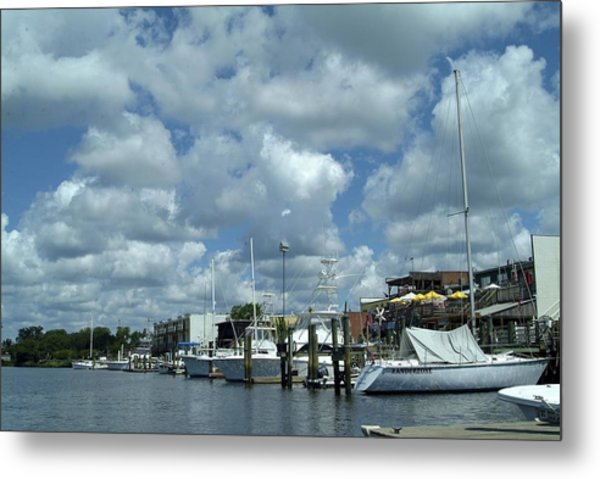 Metal Print featuring the photograph Waterside by Ralph Jones