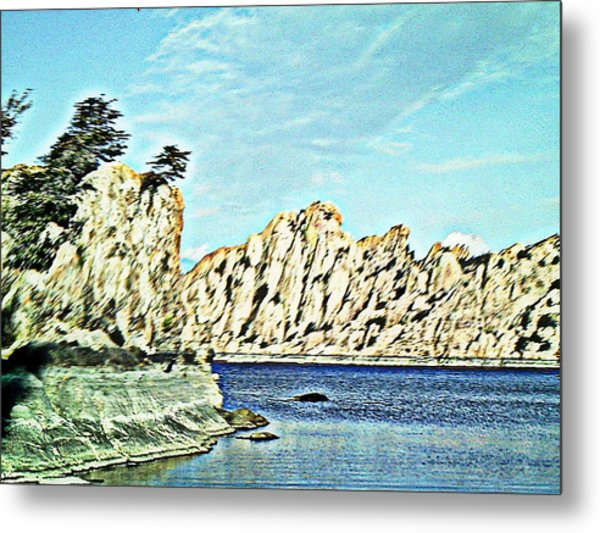 Watson Lake Metal Print by Lisa Wells