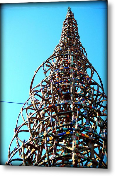 Watts Up Metal Print by D Wash