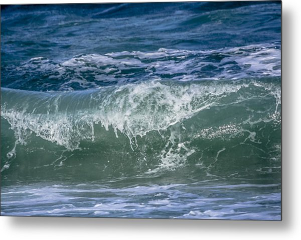 Waves Metal Print by Andrea  OConnell