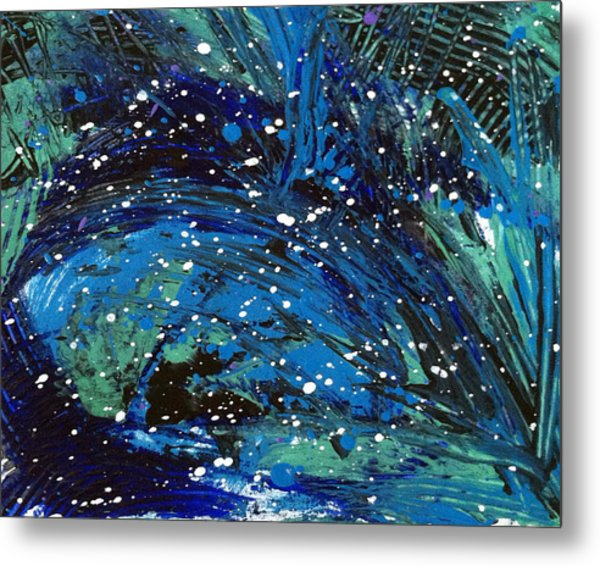 Waves Of Emotion Metal Print by Bethany Stanko